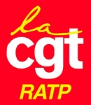Logo CGT RATP Bus